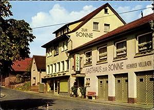 Ansichtskarte / Postkarte Winterkasten Lindenfels im Odenwald