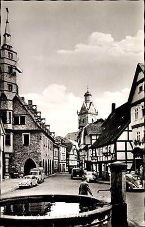 Ansichtskarte / Postkarte Korbach in Hessen, Rathaus
