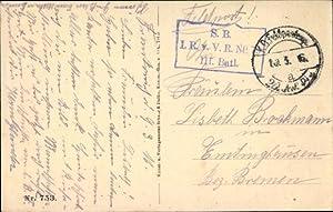 Ansichtskarte / Postkarte Stempel K.D. Feldpostexp. 20.