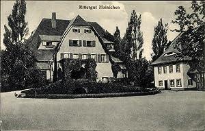 Ansichtskarte / Postkarte Hainichen Kitzscher Sachsen, Rittergut,