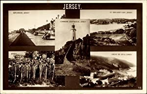 Ansichtskarte / Postkarte Jersey Kanalinseln, Esplanade, St.