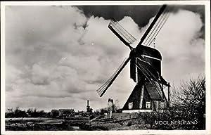 Ansichtskarte / Postkarte Niederlande, Blick auf eine