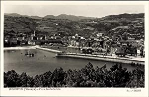 Ansichtskarte / Postkarte Lekeitio Bizkaia Lequeitio Vizcaya