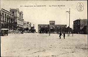 Ansichtskarte / Postkarte Djibouti Dschibuti, La Place