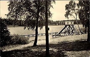 Ansichtskarte / Postkarte Heidesee, Pionierlager M. I.