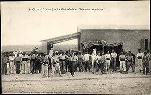 Ansichtskarte / Postkarte Guercif Marokko, Le Maréchalerie