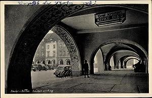 Ansichtskarte / Postkarte Jawor Jauer Schlesien, Lauben