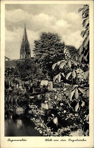 Ansichtskarte / Postkarte Resko Regenwalde Pommern, Blick
