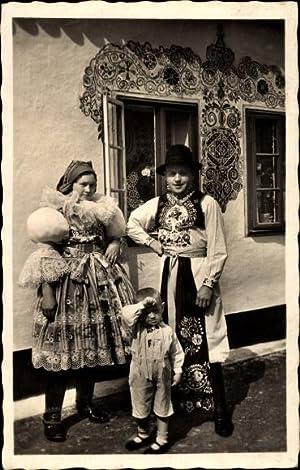 Ansichtskarte / Postkarte Moravske narodni kroje, Hroznova