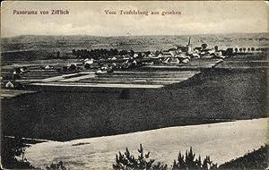 Ansichtskarte / Postkarte Zyfflich Kranenburg, Stadtpanorama vom