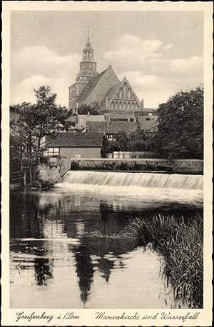 Ansichtskarte / Postkarte Gryfice Greifenberg Pommern, Marienkirche