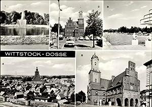 Ansichtskarte / Postkarte Wittstock Dosse in der