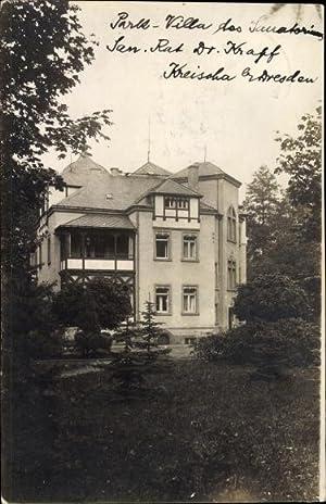 Foto Ansichtskarte / Postkarte Kreischa im Erzgebirge,