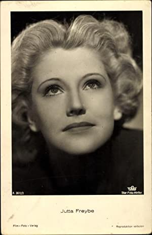 Ansichtskarte / Postkarte Schauspielerin Jutta Freybe, Portrait,