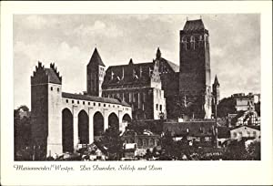 Ansichtskarte / Postkarte Kwidzyn Marienwerder Westpreußen, Der