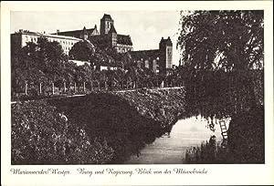 Ansichtskarte / Postkarte Kwidzyn Marienwerder Westpreußen, Burg,
