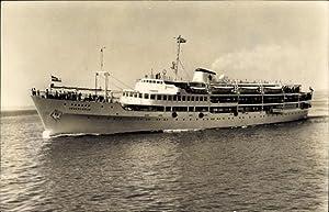 Ansichtskarte / Postkarte Fährschiff MB Jugoslavija, Ansicht