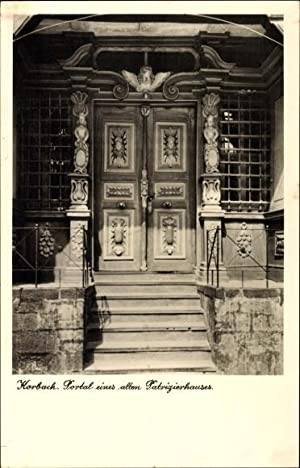 Ansichtskarte / Postkarte Korbach in Hessen, Portal