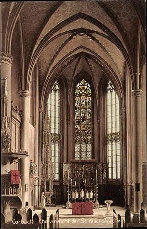 Ansichtskarte / Postkarte Korbach in Hessen, Choransicht