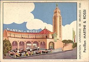 Litho Bruxelles Brüssel, Exposition Universelle 1935, Pavillon
