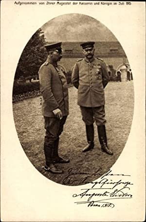 Ansichtskarte / Postkarte Kaiser Wilhelm II von