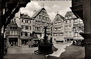 Ansichtskarte / Postkarte Bernkastel Kues im Moseltal,