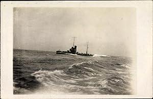 Foto Ansichtskarte / Postkarte Deutsches Kriegsschiff, U.Z.