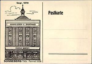 Künstler Ansichtskarte / Postkarte Sonneberg in Thüringen,