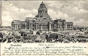 Ansichtskarte / Postkarte Bruxelles Brüssel, Palais de