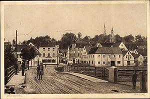 Ansichtskarte / Postkarte Mainburg in Niederbayern, Blick