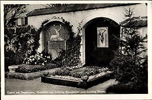 Ansichtskarte / Postkarte Rottach Egern im Kreis