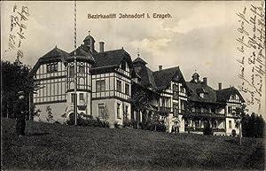 Ansichtskarte / Postkarte Jahnsdorf im Erzgebirge, Bezirksstift,