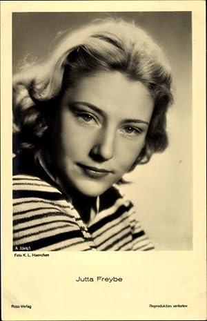 Ansichtskarte / Postkarte Schauspielerin Jutta Freybe, Ross