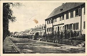 Ansichtskarte / Postkarte Kitzscher in Sachsen, Straßenpartie