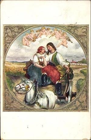 Künstler Ansichtskarte / Postkarte Manes, Josef, Libanky