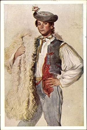 Künstler Ansichtskarte / Postkarte Manes, Josef, Mann
