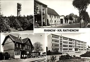 Ansichtskarte / Postkarte Rhinow Havelland, Fernseh und