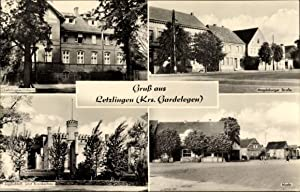 Ansichtskarte / Postkarte Letzlingen Gardelegen im Altmarkkreis
