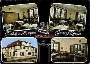 Ansichtskarte / Postkarte Arnshausen Bad Kissingen Unterfranken