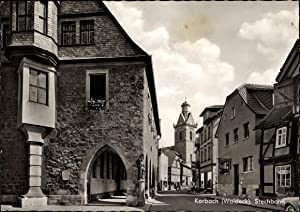 Ansichtskarte / Postkarte Korbach in Hessen, Stechbahn,