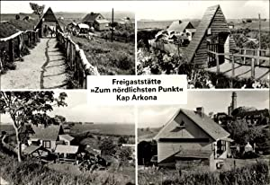Ansichtskarte / Postkarte Kap Arkona Putgarten Insel