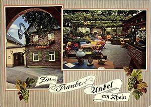 Ansichtskarte / Postkarte Unkel im Rheinland, Weinhaus