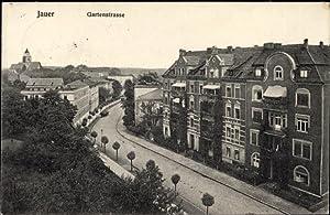 Ansichtskarte / Postkarte Jawor Jauer Schlesien, Gartenstraße,