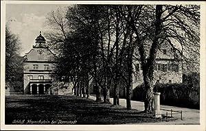 Ansichtskarte / Postkarte Darmstadt in Hessen, Schloss