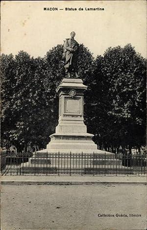 Ansichtskarte / Postkarte Mâcon Saône et Loire,