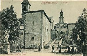 Ansichtskarte / Postkarte Montesenario Toscanoa, L'Eremo, Einsiedelei