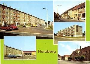 Ansichtskarte / Postkarte Herzberg in Brandenburg, Wilhelm