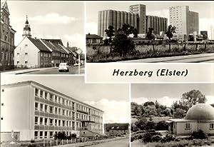 Ansichtskarte / Postkarte Herzberg an der Elster,
