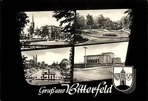 Ansichtskarte / Postkarte Bitterfeld, Walther Rathenau Straße,