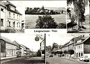 Ansichtskarte / Postkarte Langewiesen in Thüringen, Konsum